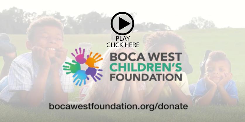 Boca West Childrens Foundation Video Picture