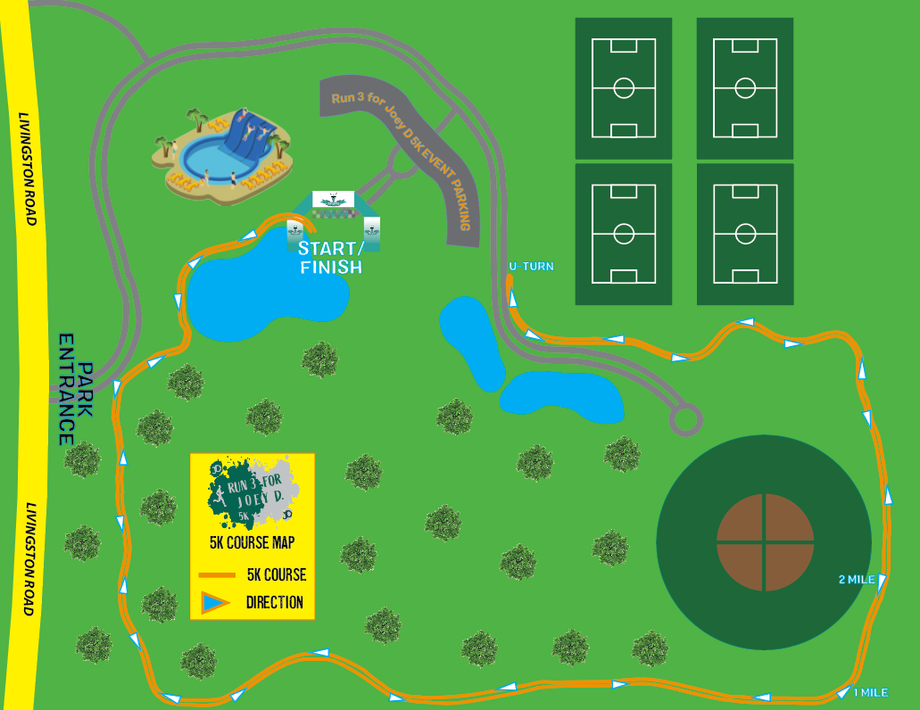 Run 3 for Joey D 5K Course Map Official_Naples